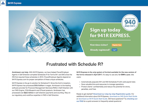 941r Express Schedule R Software Tool Annkissam
